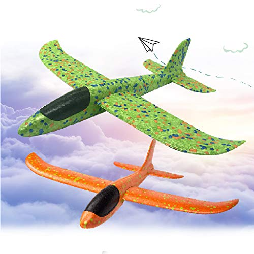 LOFEE Airplane Model Material for Boy,Light Model Plane Multi-Color Manual for 7.8.9 Year Old Toddler,Creative Gifts for Boy Girl Birthday Christmas Children's Day by LOFEE (Image #1)