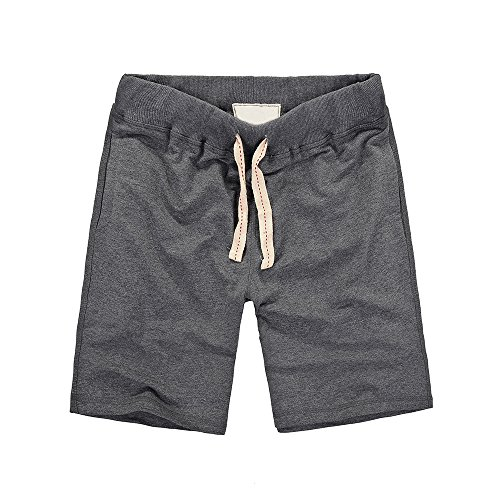 Just No Logo Men's French Terry Sweat (French Terry Logo Short)