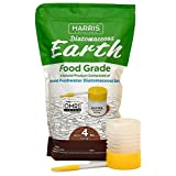 Harris Diatomaceous Earth Food Grade, 4lb w/ Free Powder Duster