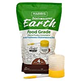 #3: Harris Diatomaceous Earth Food Grade, 4lb w/ Free Powder Duster
