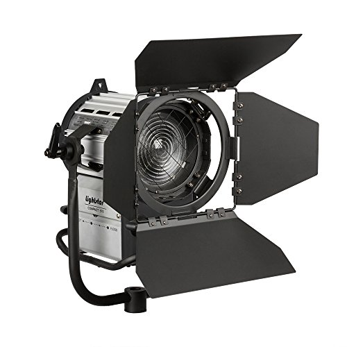 Ikan LS-575TE 575W HMI Fresnel Light with 1200/575W Ballast Includes 8 Meter Ballast to Head Cable 575w Light Head