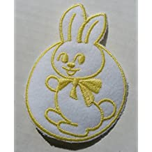 Baby Patch Yellow Bunny Rabbit Circle Iron On Applique Embroidered Cute Sew Pcs Badge Patches Craft Girl Mix Appliques 5 4 Infant Diy Garment Sewing 2 New Jacket Patches Emblem Upick Nation Trim X3 Standard Logo Motif Appliques Cloth Embroidery Rose Trim Embellished Embellishments Back Pack Embellish Style Colorful Added Addition