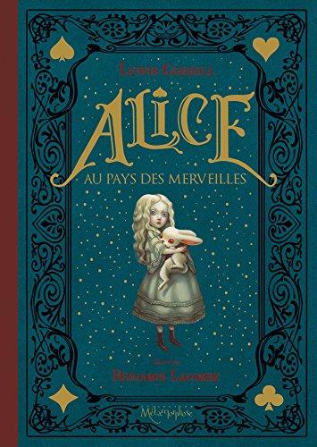 Alice au pays des merveilles [ Alice in Wonderland ] Deluxe Hardbound Board Edition (French Edition)