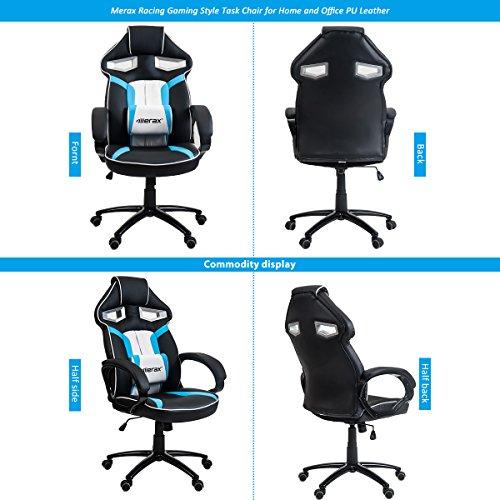 513ub3%2B%2BhVL - Merax-Stylish-Devils-Eye-Series-High-Back-Gaming-Chair-PU-Leather-and-Mesh