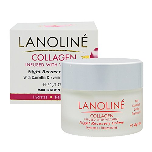 Lanoline Collagen With Vitamin C Night Recovery Cream