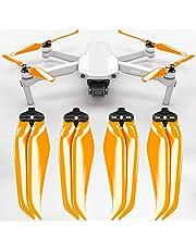 MAS Stealth propeller compatibel met DJI Mavic Air 2 - oranje 4 stuks