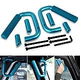 Automotive : AUTOSAVER88 Front Grab Handle Bar for 2007-2018 Jeep JK Wrangler & Unlimited 2/4 Door Solid Steel Grip Roll Bar - Pair …