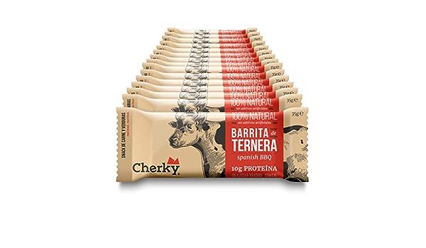 Cherky Barritas de Ternera, Snack Salado Saludable Sin Azúcar ...