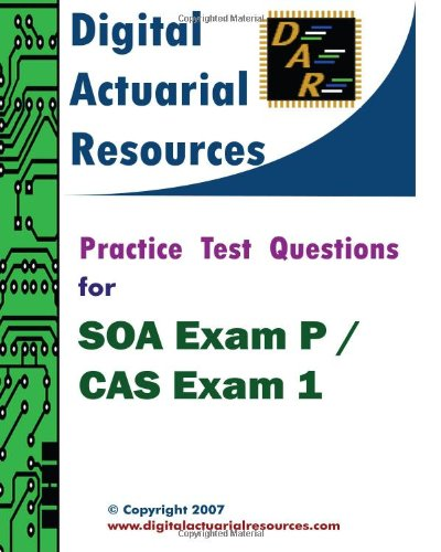 ons For SOA Exam P / CAS Exam 1 ()