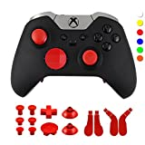 Cheap WPS Metal Alloy Bumper Trigger Button Set for XBOX One Elite Controller with Open Tools ( T6 T8 ) – Red