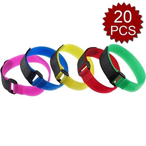 Aspire Assorted Velcro Plastic Pcs Assorted Size