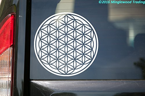 (Minglewood Trading Flower of Life vinyl decal sticker 6