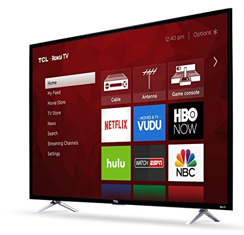 TCL 55S405 55-Inch 4K Ultra HD Roku Smart LED TV (2018 Model)