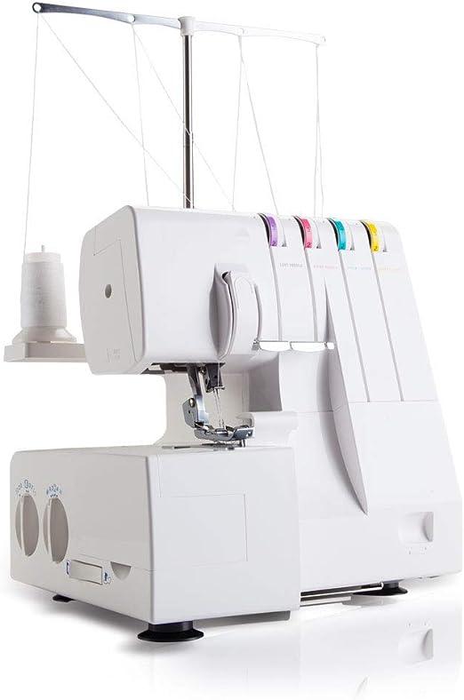Máquina de coser portátil con 2 velocidades de costura bordado Pedal Overlock Máquina de coser rápida Herramienta de ...