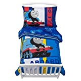 Thomas & Friends Thomas The Train Toddler Bedding 4 Piece Set - Blue