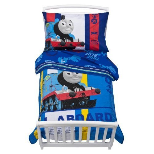 032281226855 - Thomas the Tank Toddler Bed Set carousel main 0