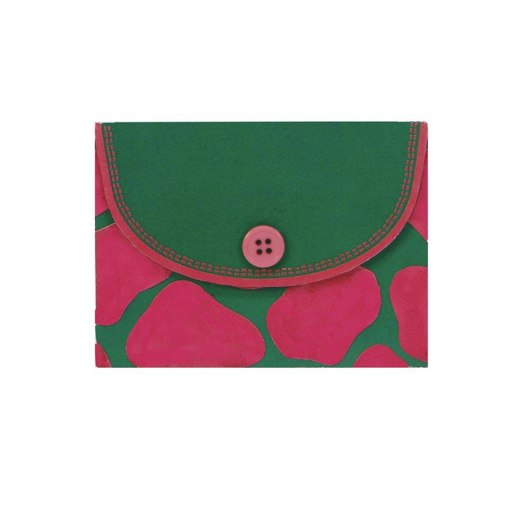Tye Dye Gibson Lolita Compact Magnetic Note Pad C.R