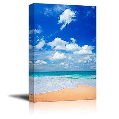 Peaceful Tropical Beach Wall Decor 16