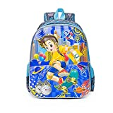YOURNELO Childrens Cartoon 3D Waterproof Rucksack School Backpack Bookbag (E Ben 10)