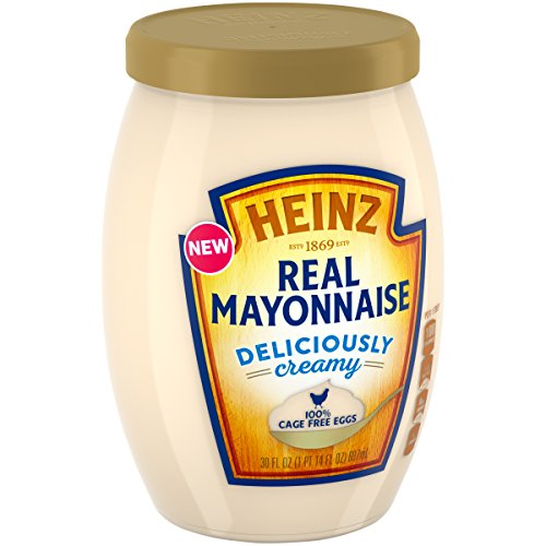 Heinz Real Mayonnaise, 100% Cage Free Eggs, 30 fl. oz. (Egg Mayonnaise)