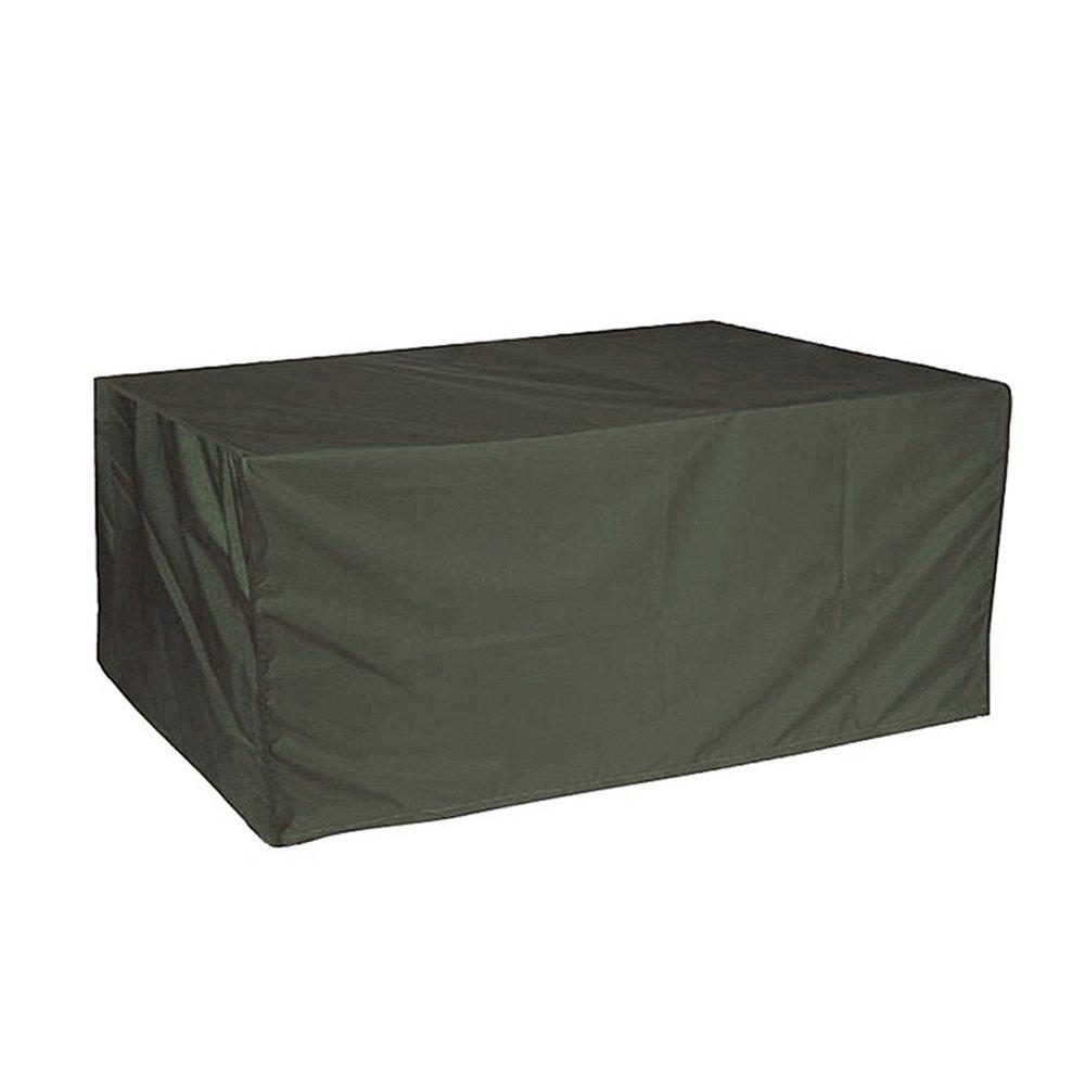 ERAY Patio Garden Furniture Cover Sunproof Durable Outdoor Rectangular Table Chair Protective Covers (70.8'' x 53.1'' x 30.7'', Dark Green)