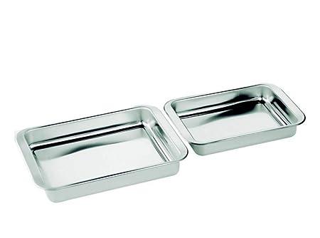 Compra INOXIBAR - Rustideras Set 2pcs de 30 y 35cm. INOX. en Amazon.es
