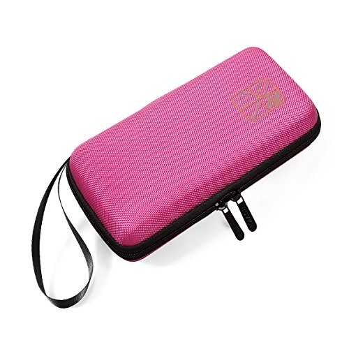 BOVKE for Graphing Texas Case Storage Travel Bag Protective Box,Pink