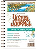 """Strathmore Visual Journal Watercolor 5.5""""X8""""-34 Sheets"""