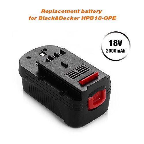 Buy black and decker 18v battery life