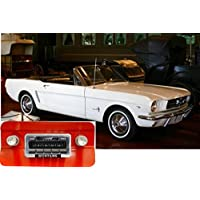 Bluetooth Enabled 1964-1966 Mustang 300w Slidebar AM FM Car Stereo/Radio