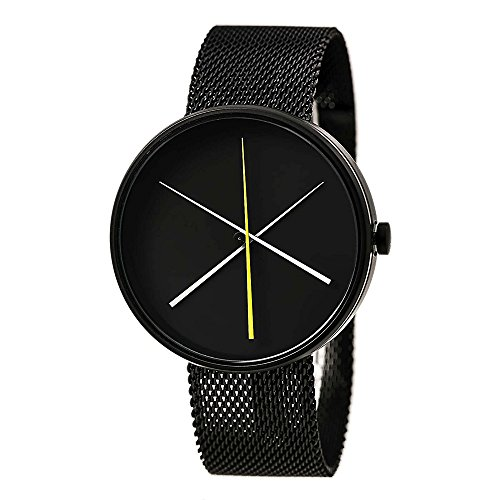 Projects Watch Crossover Black w/ Black Mesh Band 7292 B S/S (Watches Project)