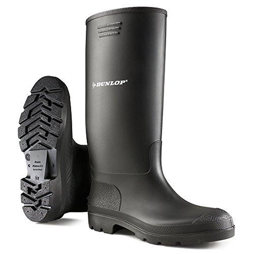 Dunlop - Botas para hombre Negro
