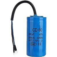 CD60 200uF Condensador del motor con cable conductor
