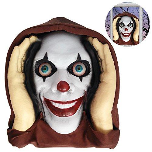 [Scary Peeper Halloween prop - Lenticular Eyed Clown] (Halloween Clowns)