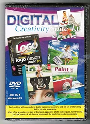 Adobe Digital Creativity Suite 4.0 - Photoshop Elements 11, Logo Design Studio Pro and Corel Paint It All in One!!!