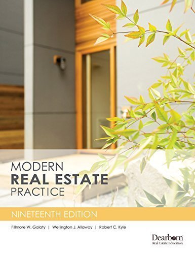 Pdf Law Modern Real Estate Practice, 19th Edition