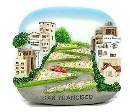 Imanes de nevera recuerdos San Francisco Hecho a mano Escultura ...