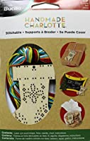 Bucilla Wood Stitchable Shapes Kit, 3 by 3-Inch, 86499 Stocking