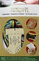 Bucilla Wood Stitchable Shapes Kit, 3 by 3-Inch, 86499 Stocking
