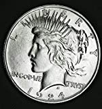 1924 Peace Dollar BU 90% Silver $1 Beautiful Uncirculated Mint State US Mint