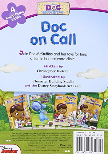 Doc McStuffins: Doc on Call: Board Book Boxed Set by DISNEY (Image #1)
