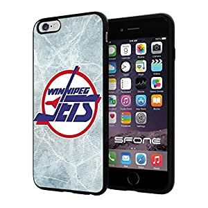 Winnipeg Jets Ice #195 iphone 5s) I+ Case Protection Scratch Proof Soft Case Cover Protector