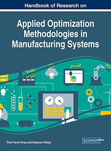 Handbook of Research on Applied Optimization Methodologies in Manufacturing Systems (Advances in Logistics, Operations, and Management Science)