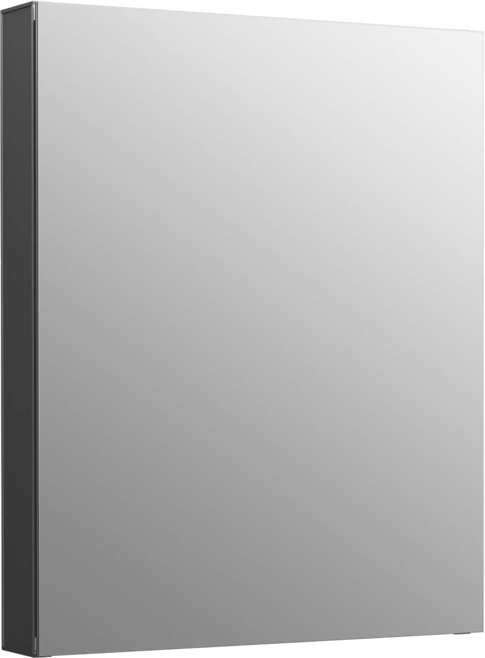 Kohler K-81145-DA1 Maxstow Frameless Surface Mount Bathroom Medicine Cabinet, 20'' x 24'', Dark Anodized Aluminum