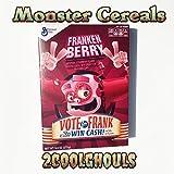 Franken Berry Monster Cereal 9.6 oz box Vote Edition