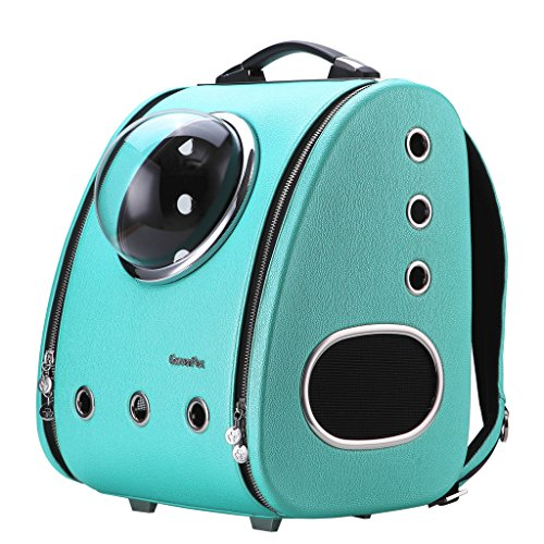CloverPet Luxury Pet Travel Carrier Backpack by CloverPet