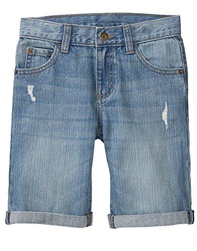 Gymboree Little Boys' Relaxed Denim Shorts, Medium Wash, - Boys Jeans Gymboree