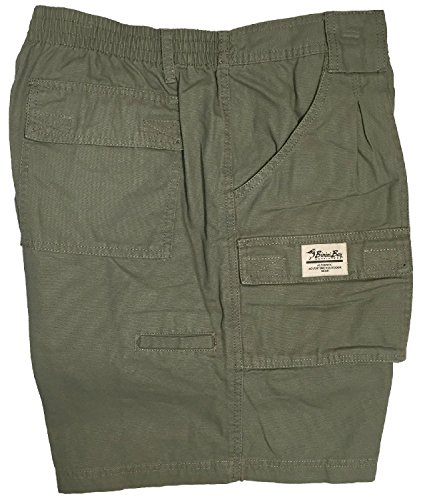 Bimini Bay Outfitters Outback Hiker Cotton Cargo Short (38, - Mens Bay