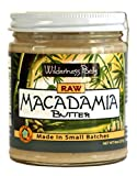 Wilderness Poets Raw Macadamia Butter (8 oz Glass Jar)