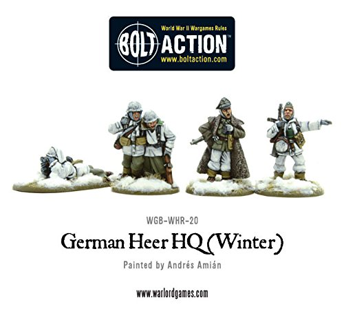 Warlord-Games-German-Heer-HQ-Winter-28mm-Bolt-Action-Wargaming-figures